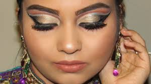 deshi indian party makeup tutorial