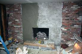 installing stone veneer fireplace nstall install