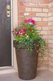 flower pots outdoor