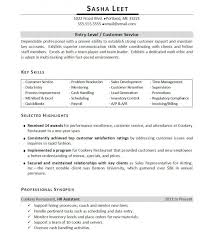 Entry Level Customer Service Resume Fascinating Resume Key Skills Mechanical Engineer Entry Level Magnificent