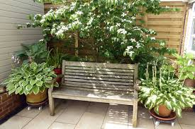 how to create shade in a small garden