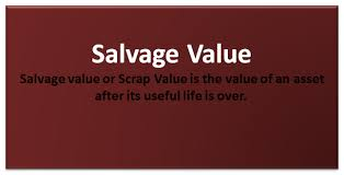 Fixed Asset Depreciation Calculator Salvage Value Formula Scrap Value Calculation In Excel