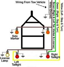 wire trailer wiring diagram troubleshooting  4 way trailer wire diagram 4 home wiring diagrams on 4 wire trailer wiring diagram troubleshooting
