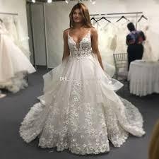 vinca sunny lace wedding dresses 2017 sexy backless v neck