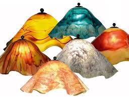 Large Glass Lamp Shade craftsman-lighting-globes-and-shades