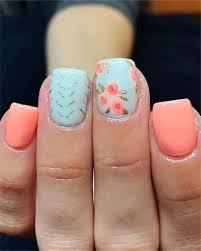 Cute Nail Designs 2019 62 Cute Nail Art Designs For Short Nails 2019 Page 28 Of