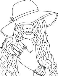 Ladies Hat Coloring Pages Ladies Hat Coloring Pages Cowboy Page Info
