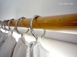 excellent ideas large curtain rings well suited design wood home and pictures