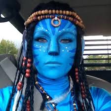 avatar makeup image is loading navi makeup kit avatar neytiri