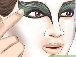 image led do black swan makeup step 7