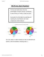 Ielts Pie Chart_ Band 9 Strategy Pdf Ielts Pie Chart Band