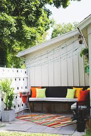 DIY Small Outdoor Party Furniture