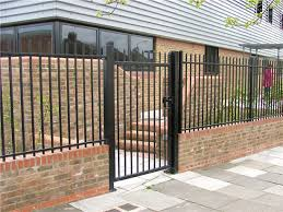 Square Hollow Section Vertical Bar Railing Fence blinds