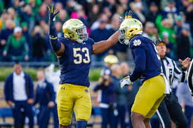 Notre Dame Football Irish Eyes On The Future At Defensive