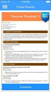 Free Resume Builder Stunning Free Resume App Awesome Free Resume Builder App Professional Cv