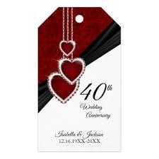 40th ruby wedding anniversary gift s thank you gifts ideas diy thankyou