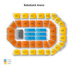 Rabobank Arena 2019 Seating Chart