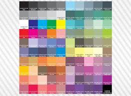 Cmyk Color Chart Cmyk Color Chart Pantone 2017 Colour