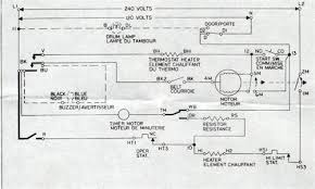 solved amana 7300 tandem dryer fixya dryer circuits look like this the start switch and relay are drawn just to the right of the motor this diagram has no relevance to the physical position