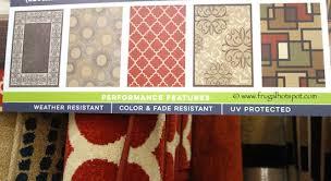orian rug easy living 7 5 x 10 indoor outdoor area rug costco