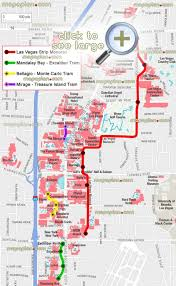 vegas monorail map  monorail map las vegas (united states of america)