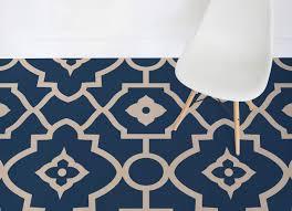 morocco moroccan style vinyl flooring blue room