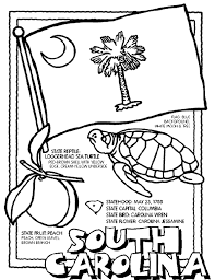 Small Picture South Carolina coloring page coloring print outs for all states