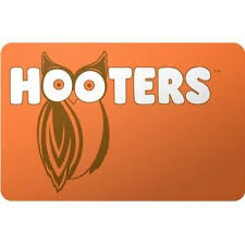 today s gift card deal save 16 on a 50 hooters gift card