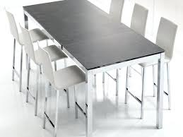 Table Bar Modulable Table Extensible Chaises Cuisine Table