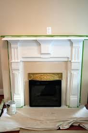 painting tile wallsAccessories Awesome White Stone Carved Tile Wall Around Fireplace