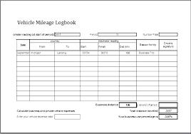 Printable Mileage Log Template Corporate Minute Book Alberta