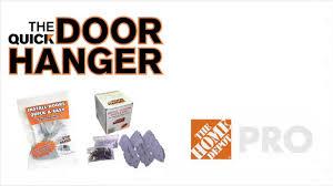 Quick Door Hanger - The Home Depot - YouTube
