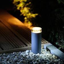 garden led post lights. techmar plug and play - linum led post light kit 4 lights garden led
