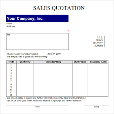 price quotation format doc quotation format in word file delli beriberi co
