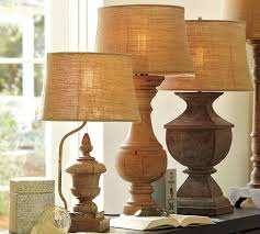 redo interesting old lamps I think these are pottery barn, but you could  antique paint