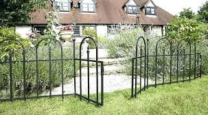 garden fencing home depot. Delighful Garden Garden Fencing Home Depot Gardening Fence Er Picket  Wire Metal Intended