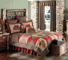 cabin quilt bedding sets log quilts patch ensemble king c