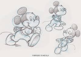 Carino Disegni A Matita Disney Topolino Pluccomix