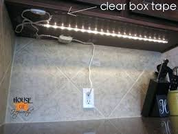 led lighting diy. Diy Under Cabinet Led Lighting Quick Can They Be Attached With Double Sided . N