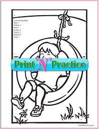 Puppy color by numbers worksheet. 9 Color By Number Worksheets Customize Print And Color