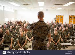 Us Marine Corps Gunnery Sgt. Benjamin Dao, ein Chief drill ...