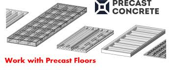 Apply Precast Concrete Revit add on to Precast Slabs