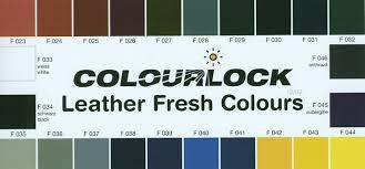Leather Fresh Standard Colours Colourlock Uae Leather