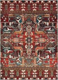 oriental weavers red orange area rug blue rugs orange and green rug red