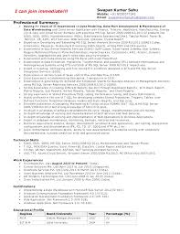 Create Ssrs Resume Examples Resume MSBI SSAS SSIS SSRS