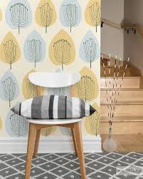 scandinawian tree pattern wallpaper by big trix pl scandinavian wallpaper