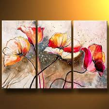 poppies lashed by the wind modern canvas art wall decor floral oil painting wall on canvas floral wall art with poppies lashed by the wind modern canvas art wall decor floral oil