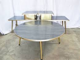 Round Formica Table Modern Mid Century Danish Vintage Furniture Shop Used