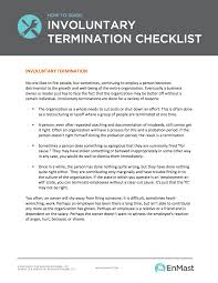 small business tools enmast small business library voluntary termination checklist