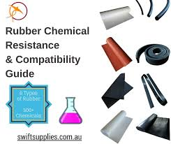 New Rubber Chemical Resistance And Compatibility Guide From